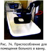 Приспособление для помещения больного в ванну
